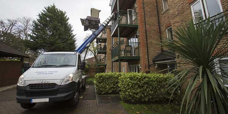 Furniture Hoist Hire Rental London