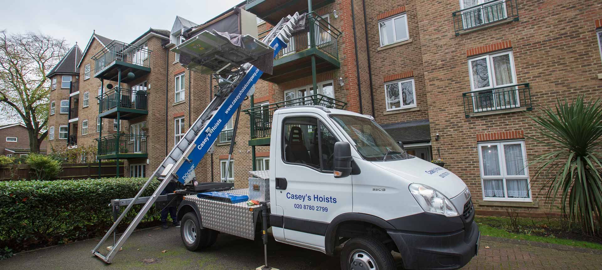 Furniture Hoist Rental London Putney