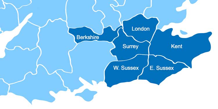 London Moving Company Areas Covered